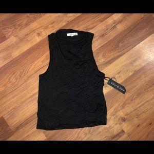 NWT Ellie & Kate Crop top blouse / shirt